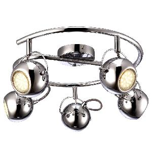 Спот Arte Lamp 86 Chrome A9128PL-5CC