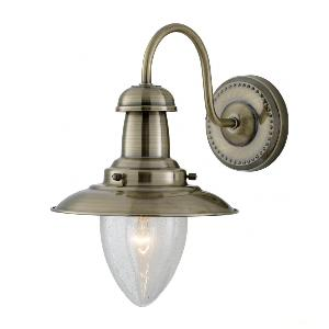 Бра с плафоном Arte Lamp Fisherman A5518AP-1AB